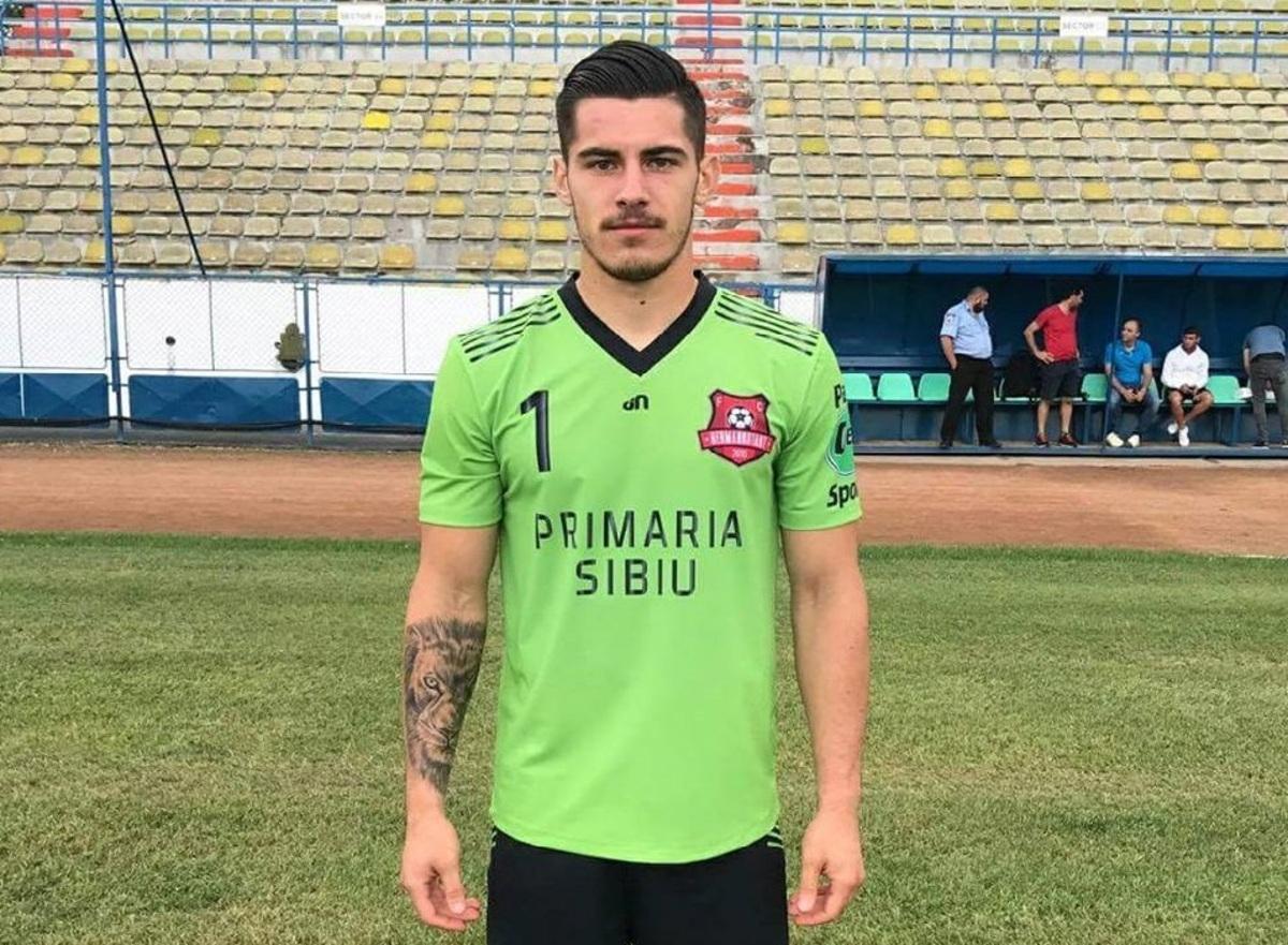 Sibianul Cătălin Căbuz, la naţionala de tineret pentru meciurile cu Bosnia&Herţegovina şi Elveţia
