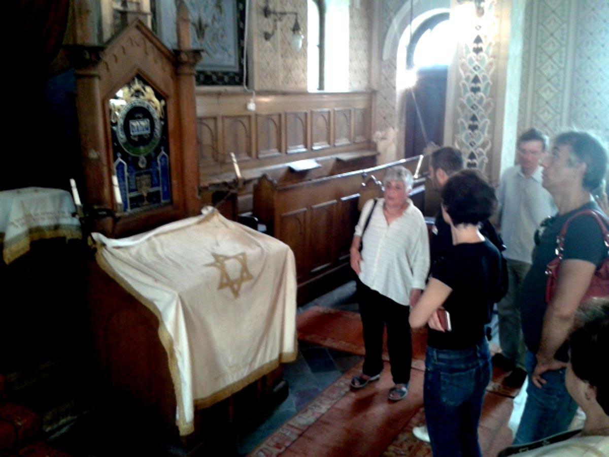 """Sinagoga din Sibiu şi-a deschis porţile de """"Ziua europeană a culturii evreieşti"""""""