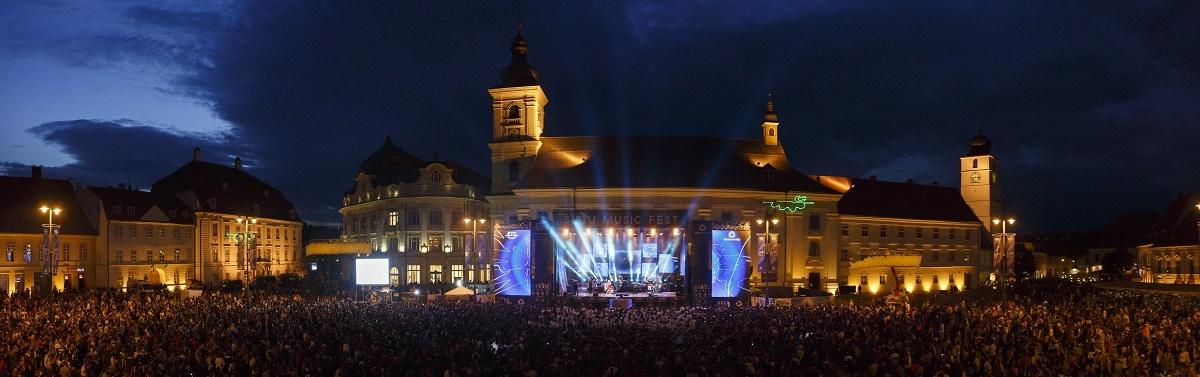 Peste 30.000 de spectatori la Sibiu Music Fest