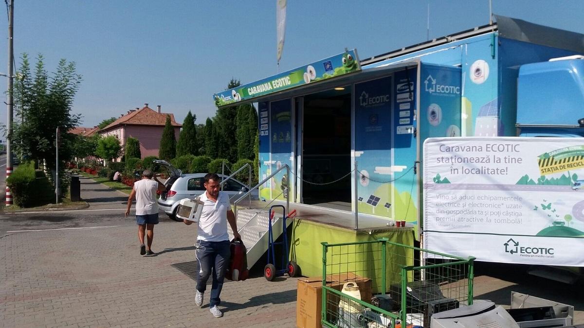 Aparatura electrocasnică se colectează din nou din judeţul Sibiu