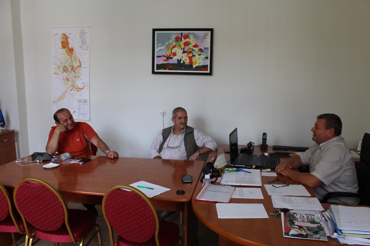 Pelerinaj spre Bucureşti, ziua a doua: primarul din Copşa Mică a ajuns la Tălmaciu: