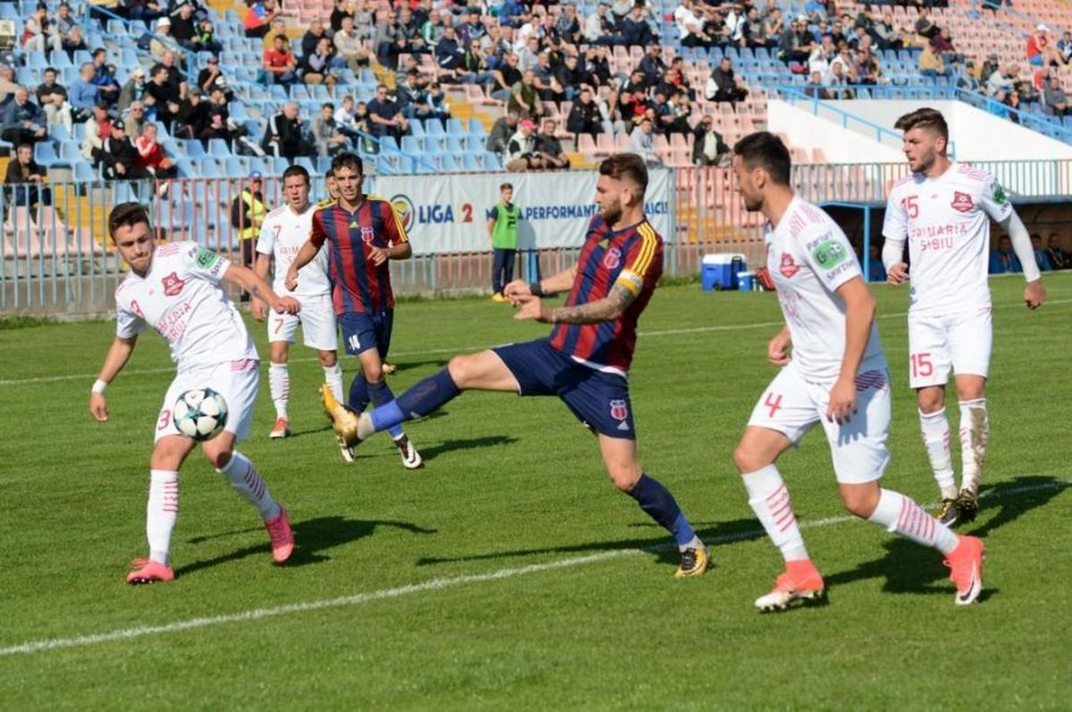 Luceafărul - FC Hermannstadt 0-0: La câţiva... centimetri de victorie!