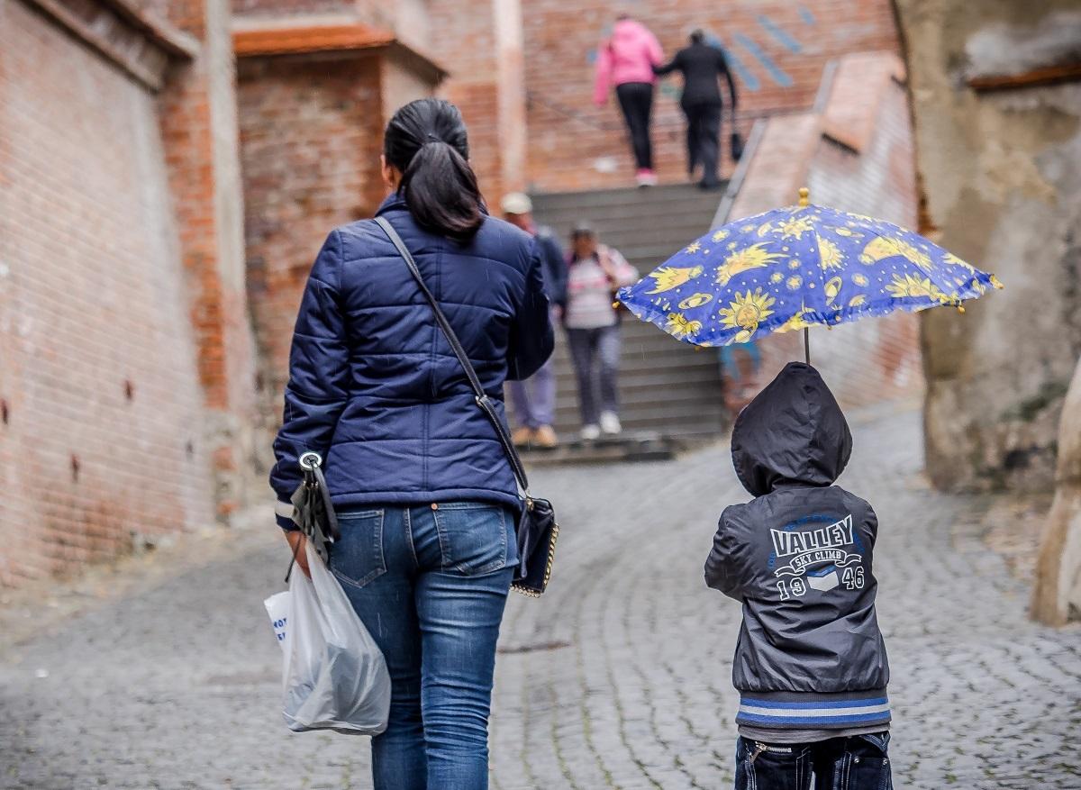 Vremea bună revine la Sibiu, dar ploile nu se opresc