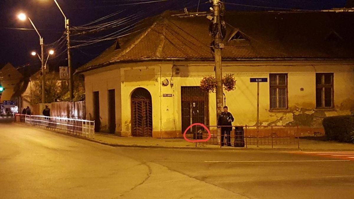 FOTO: Colet suspect descoperit în Mediaș. Poliția e în alertă