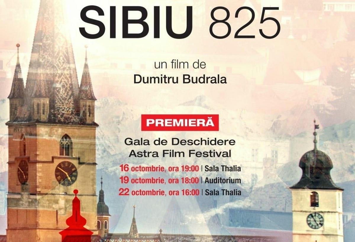 VIDEO: Călătoria cinematografică Astra Film Festival începe cu un film despre Sibiu