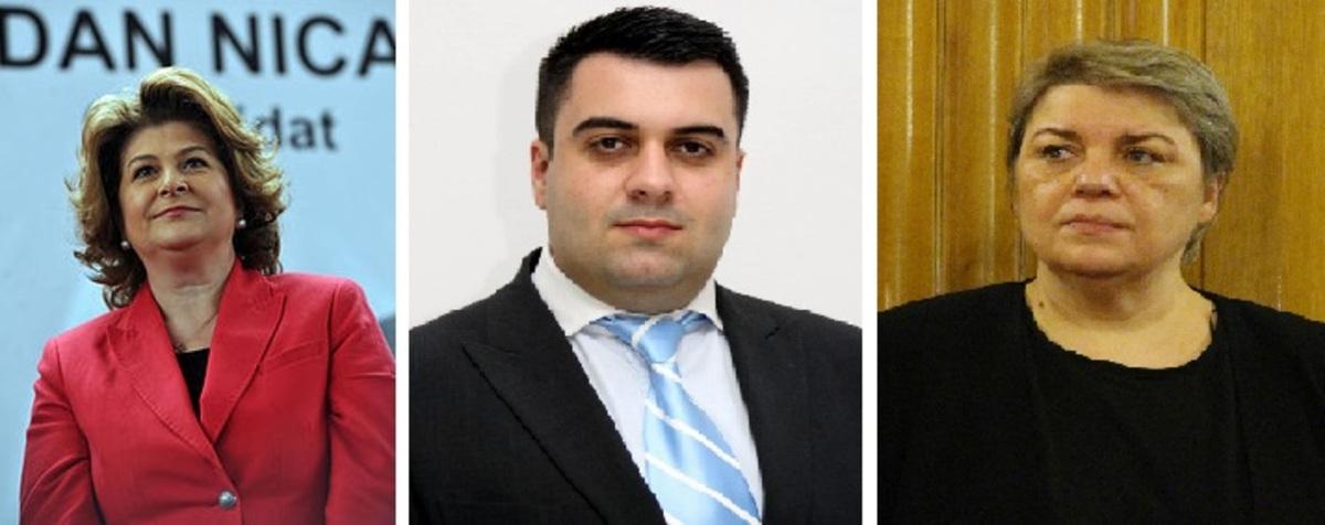 Sevil Shhaideh, Rovana Plumb şi Răzvan Cuc au demisionat.