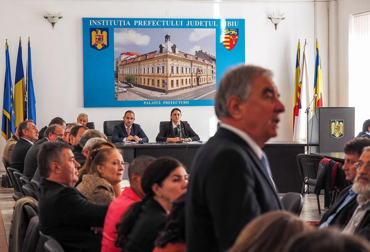 """VIDEO: Szombatfalvi Torok Francisc, la ultima prezentare în Colegiul Prefectural: """"Niciodată nu am primit o comandă politică"""""""