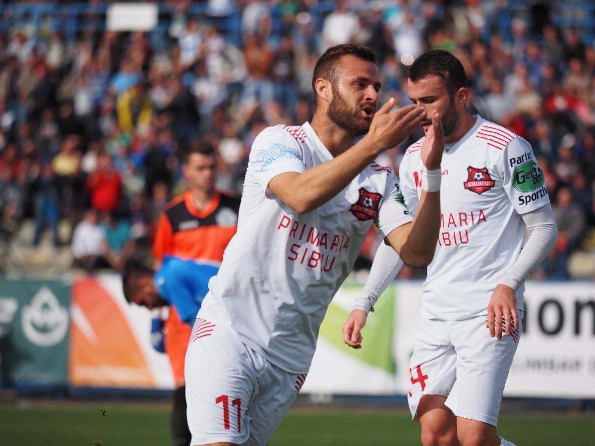 FC Hermannstadt - Dacia Unirea Brăila 3-2