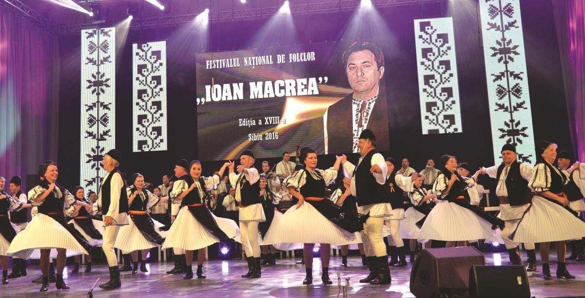 """Festivalul Naţional de Folclor """"Ioan Macrea"""", programat la sfârşitul acestei luni"""