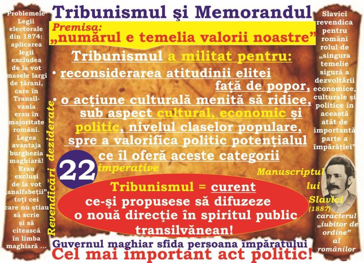 2017-Anul tribuniştilor memorandişti (XLVI): Tribunismul şi ideologia politică a Memorandului  - cel mai important act politic al românilor transilvăneni!