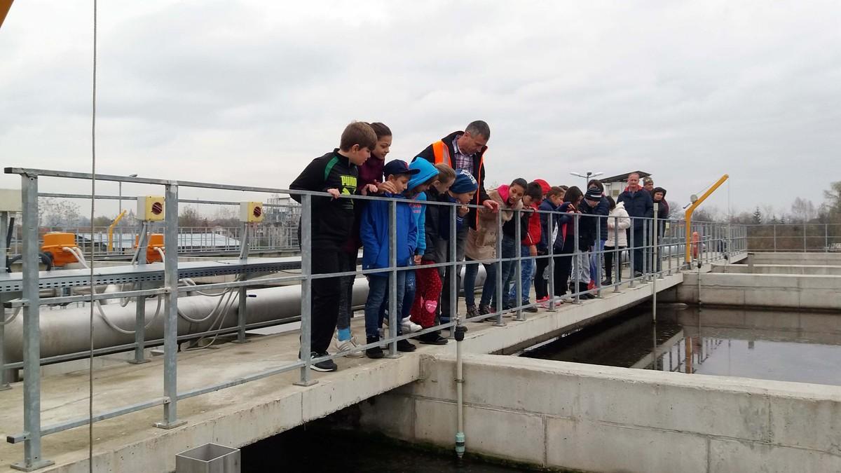 Copiii au verificat calitatea apei uzate: Șervețelele, bureții, lenjeria sau jucăriile trebuie aruncate la gunoi, nu la canalizare