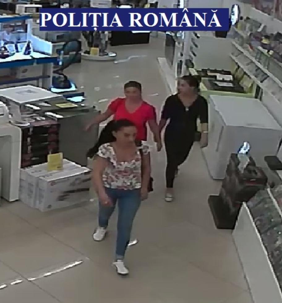 FOTO - Ați văzut aceste femei? Sunt bănuite de furt