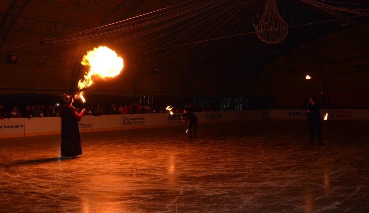Se deschide patinoarul de la Cisnădie, pe 1 decembrie!