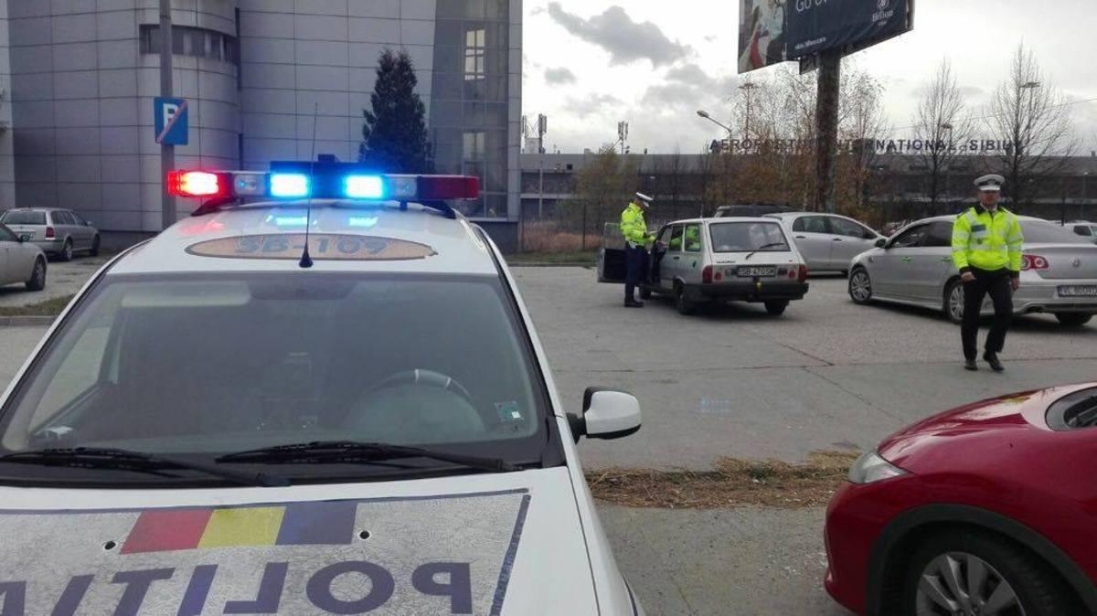 Acțiuni ampe ale polițiștilor pentru prevenirea accidentelor