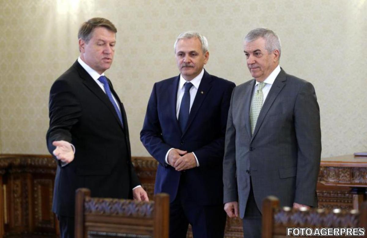 Contre Iohannis - Dragnea. Ce spune preşedintele despre şeful PSD!