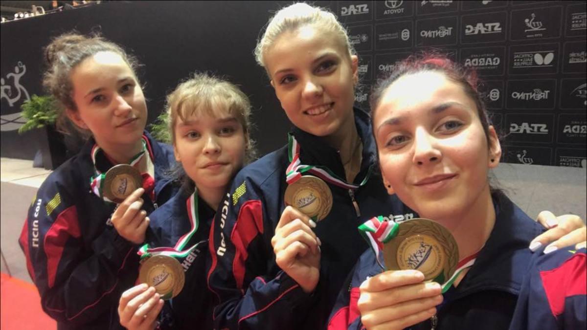"""Andreea Dragoman, """"bronz"""" mondial cu echipa feminină de juniori"""