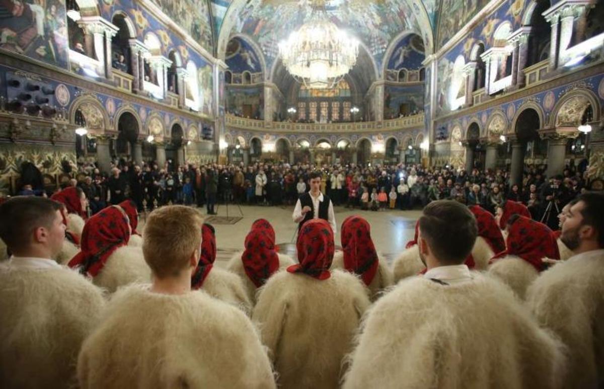 Colindătorii din Catedrala Mitropolitană