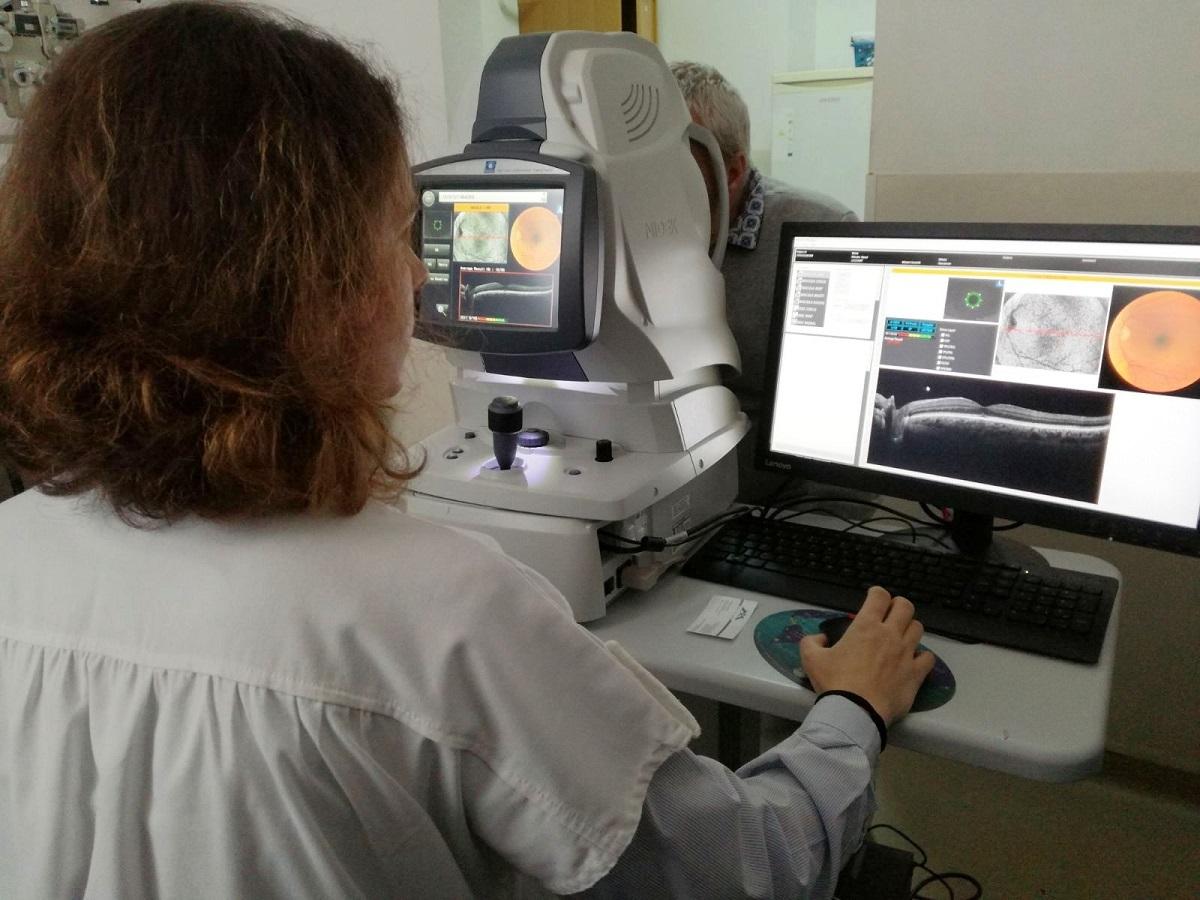 FOTO: Aparatură medicală performantă pentru Secția Oftalmologie a Spitalului