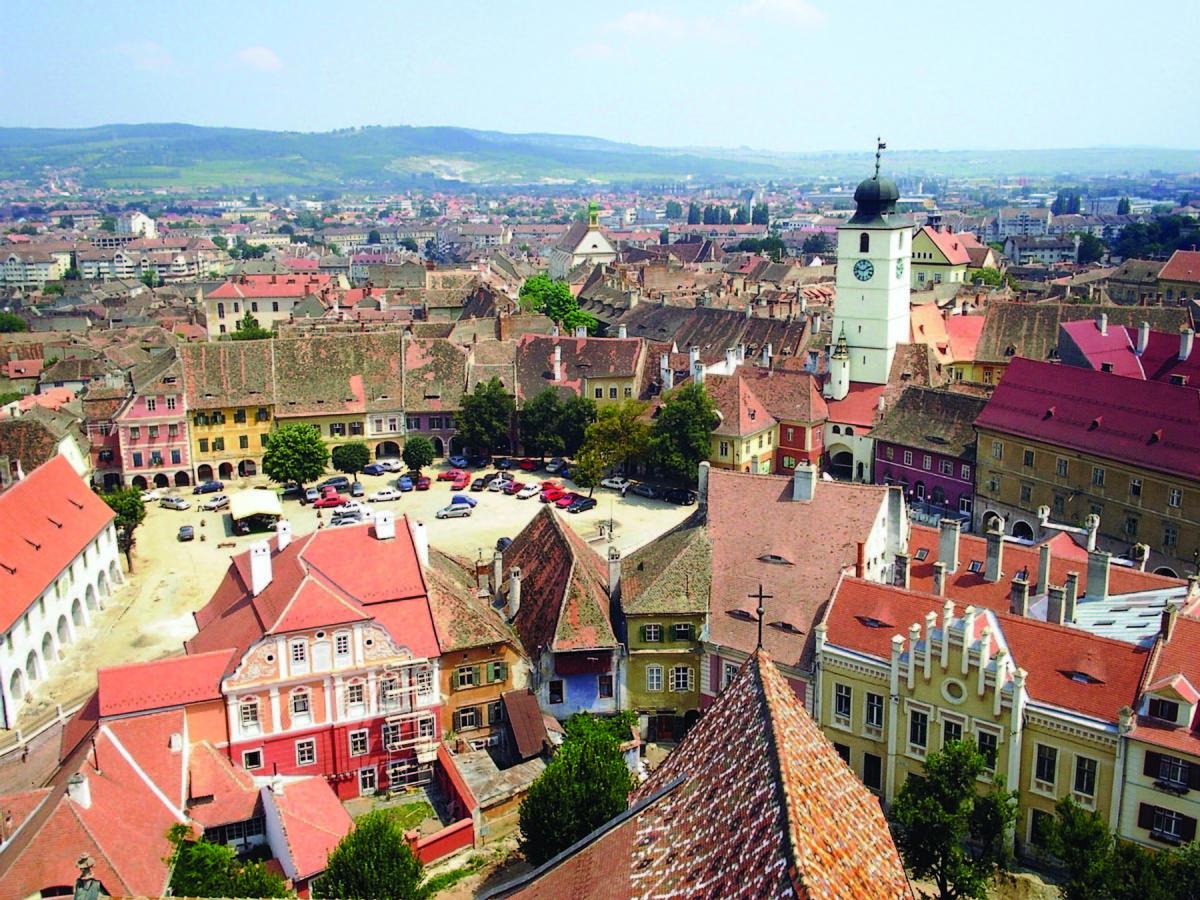 FOTO: Pe urmele primei centuri de fortificaţii a Sibiului (I)