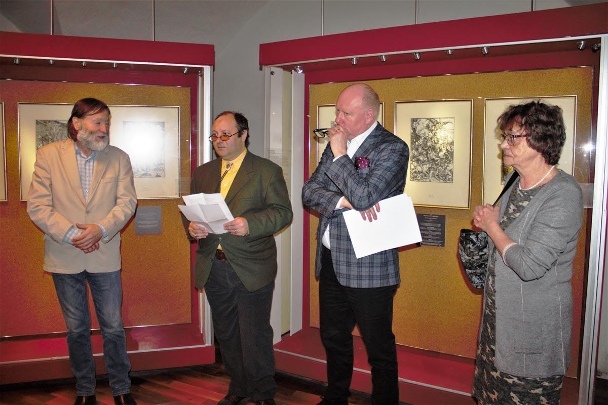 Lucrările grafice ale lui Albrecht Dürer pot fi admirate la Muzeul Brukenthal