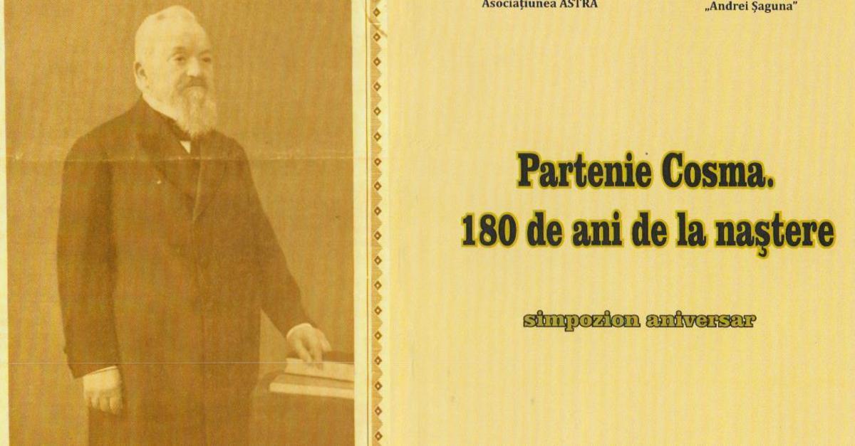 PARTENIE COSMA (1837-1924). Vocaţie de constructor şi de filantrop