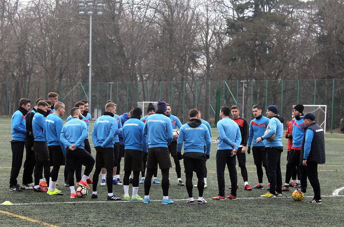 FC Hermannstadt și-a reluat pregătirile