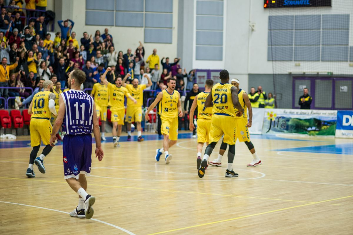 BC CSU Sibiu - BC SCM Timișoara 81-73