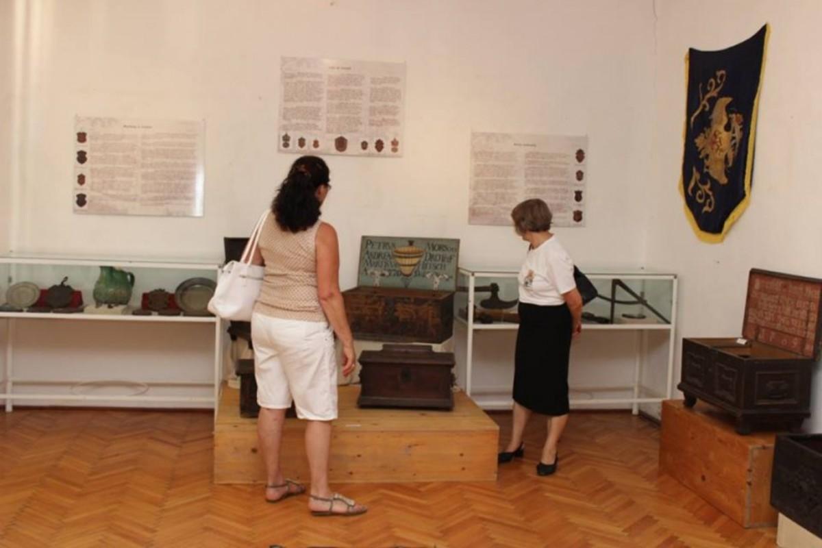 Mii de vizitatori la Muzeul Municipal Mediaș, în 2017