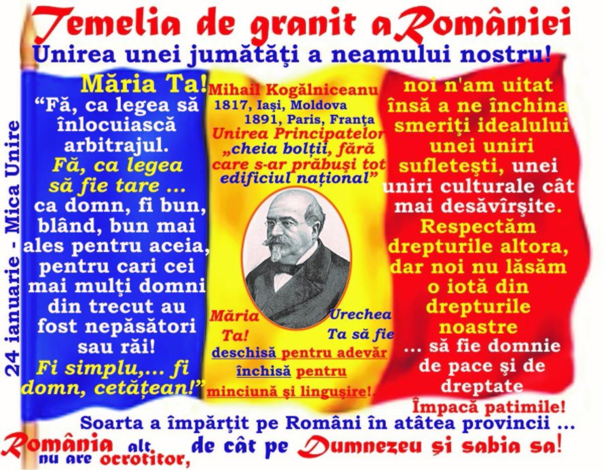 2018-MAREA UNIRE şi Tribunismul (V): Ţara doreşte om nou la legi noi ... Fii omul epocei! Fă ca legea să fie tare - România nu are alt ocrotitor decât pe Dumnezeu …!
