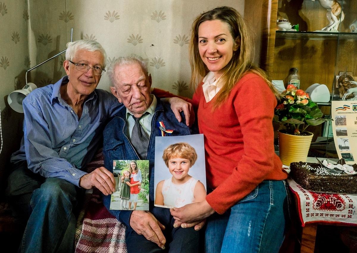 Nepotul lui Onisifor Ghibu, cel mai vârstnic sibian. La 102 ani, face gimnastică în fiecare dimineaţă