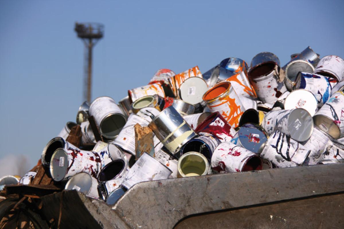 EcoSal colectează deșeurile electronice și periculoae, la Mediaș