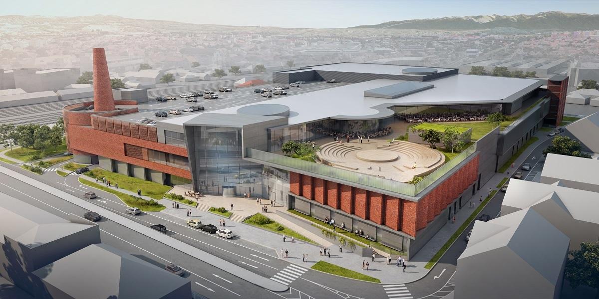 Mall-ul de la Podul Gării: magazine şi cinematograf cu nouă săli şi proiecţii 4D! Lucrările centrului comercial Festival Centrum încep în primăvară
