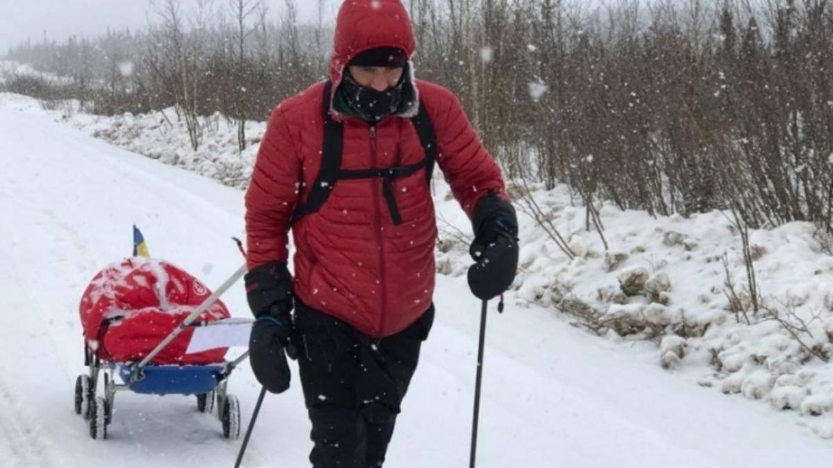 Maratonul 6633 Arctic Ultra. Tibi Ușeriu conduce detașat cea mai dură competiţie de pe planetă! Trei români au abandonat în prima zi