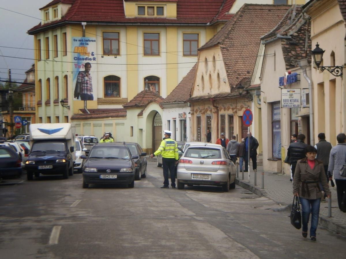 Acțiuni la Poliția Rutieră Mediaș