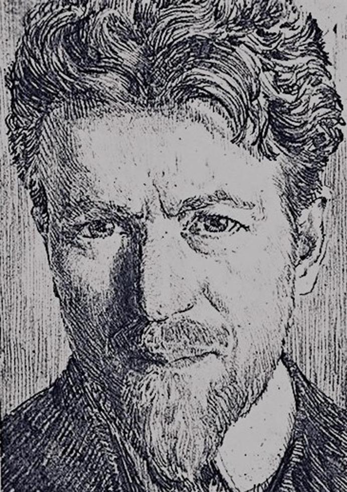Pictorul Hans Hermann, într-o expoziţie la Casa