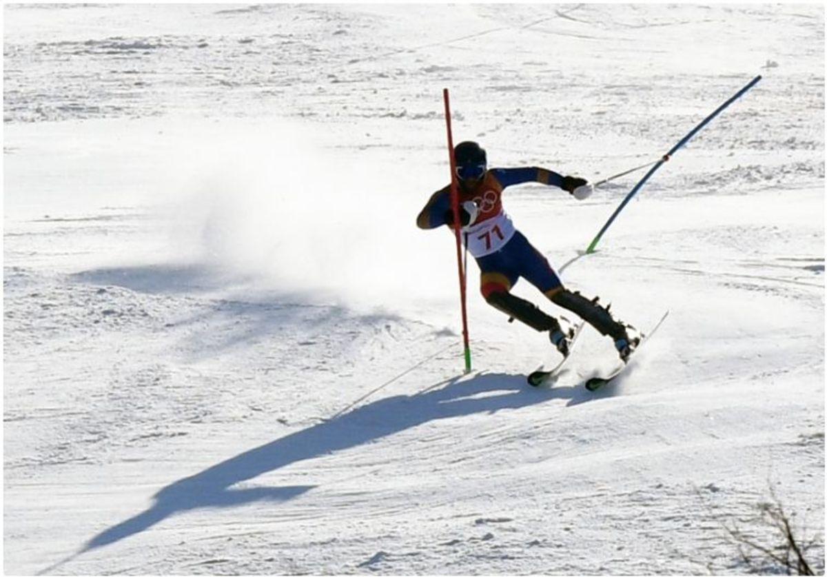 Sibianul Alexandru Barbu, campion național la slalom uriaș