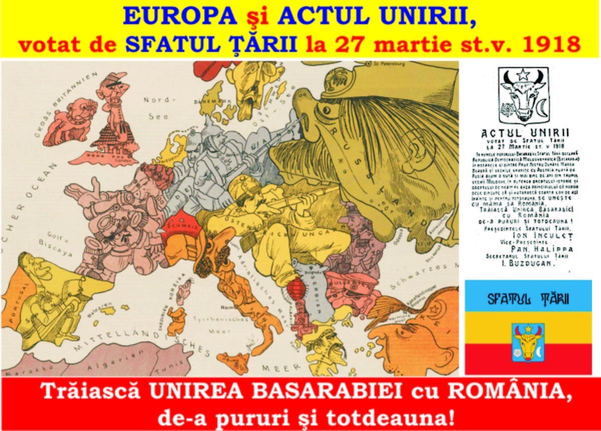Chişinău, prima Alba Iulie a României Mari