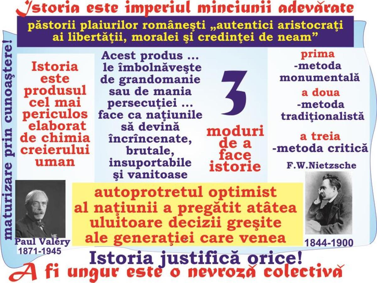 2018-MAREA UNIRE şi Tribunismul (XIV): A fi ungur este o nevroză colectivă- Istoria justifică orice - imperiul minciunii adevărate - Autoportretul optimist al naţiunii!