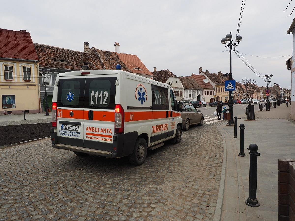 ACTUALIZARE: Tânărul împuşcat la Cisnădie nu a avut nevoie de spitalizare
