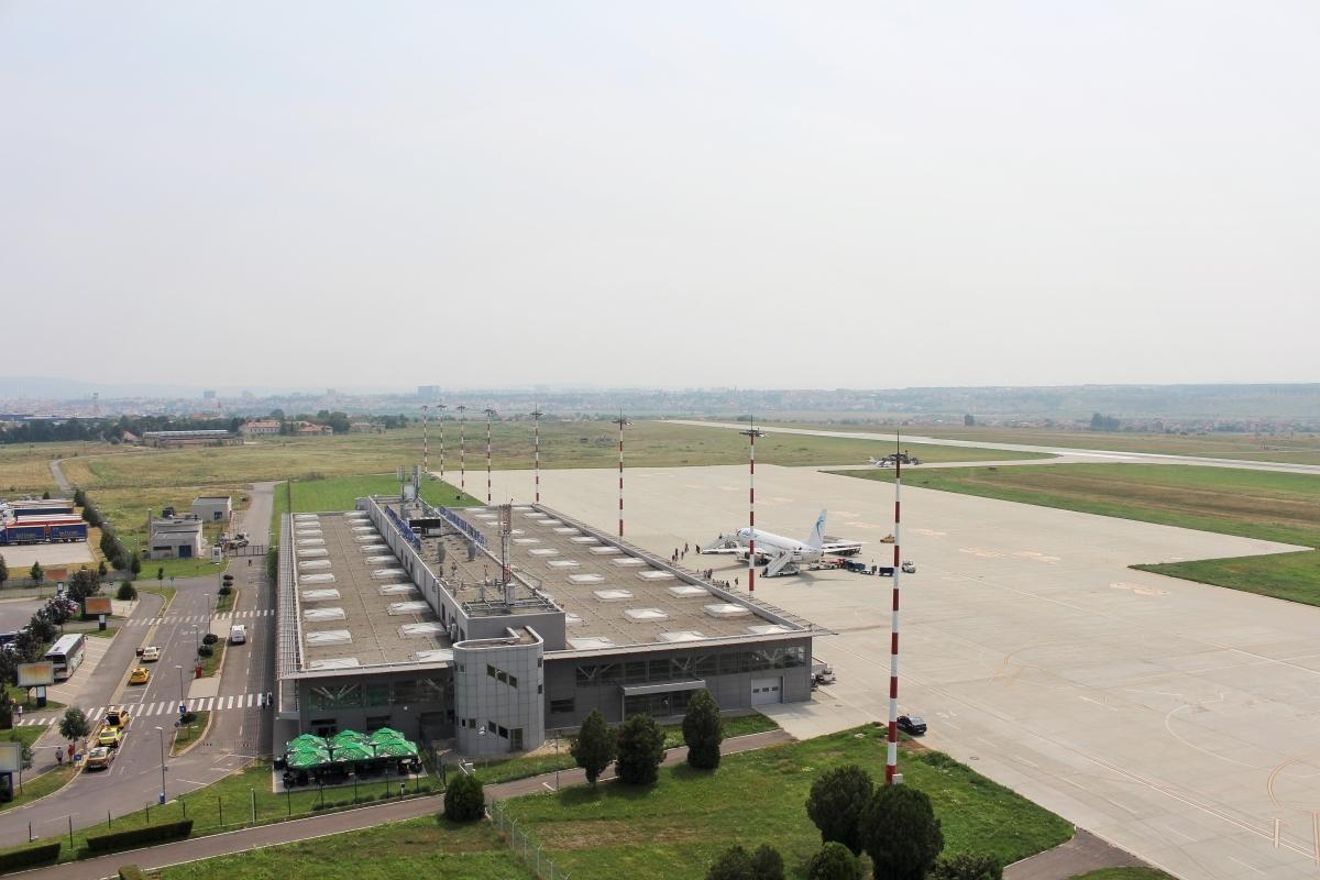 ACTUALIZARE - Exerciţiul ISU de la Aeroportul Internaţional Sibiu, amânat