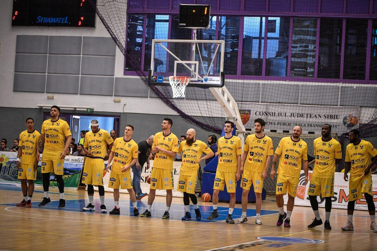 BC CSU Sibiu - CSM CSU Oradea 93-92