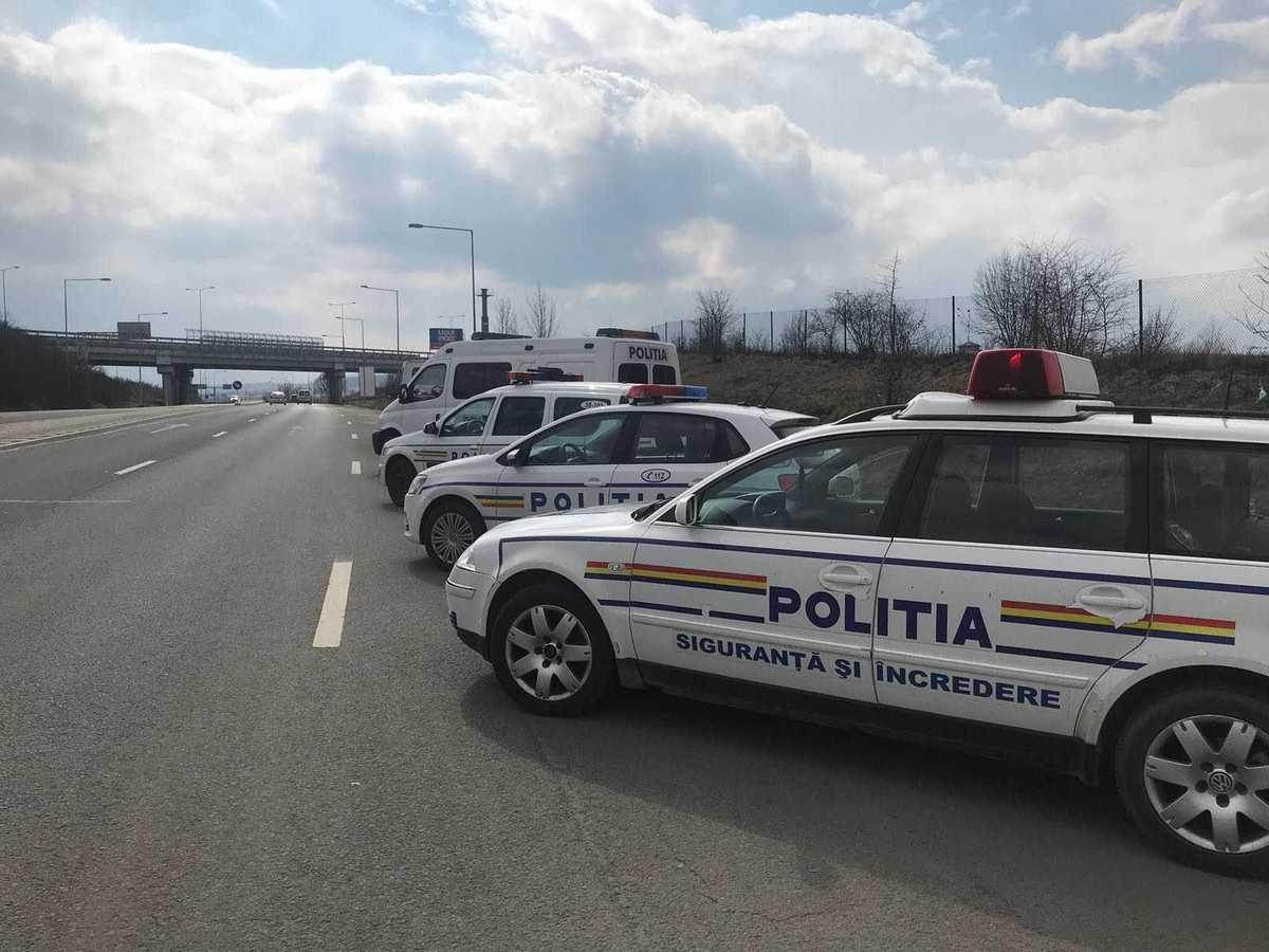 Peste 1.000 de amenzi în cadrul activităților SPEED ale polițiștilor rutieri
