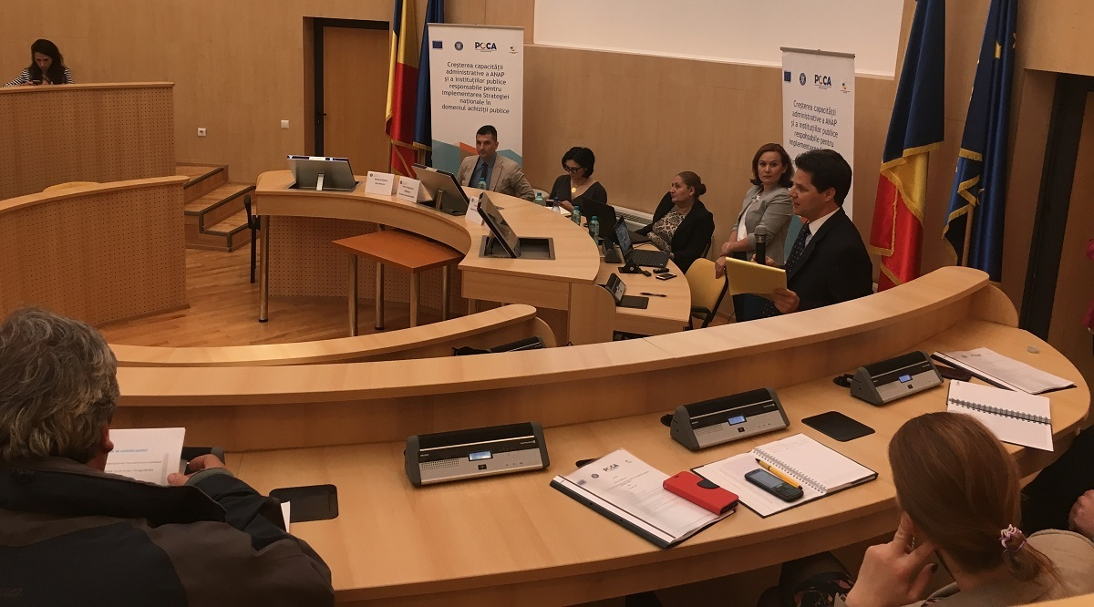 Instruire despre achizițiile publice la Consiliul Județean Sibiu