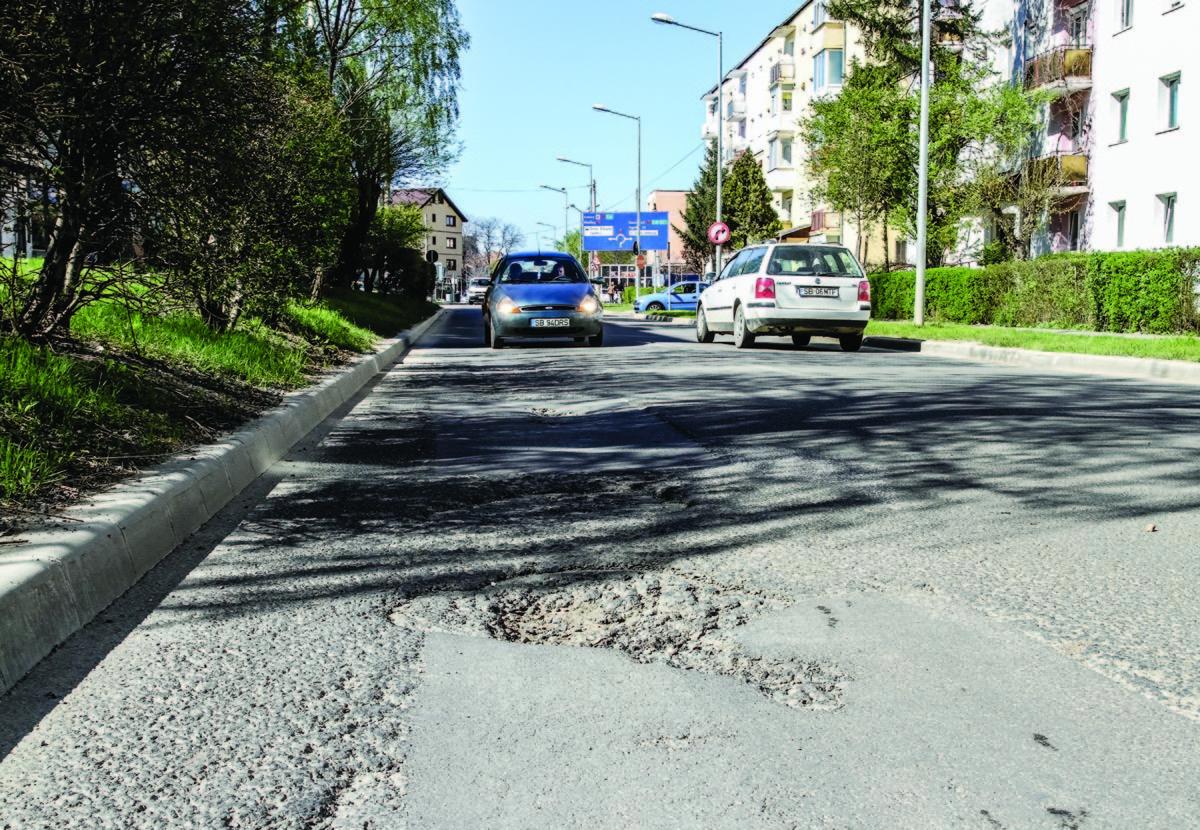 Lucrări de reparaţii pe Calea Cisnădiei. Restricţii în trafic!