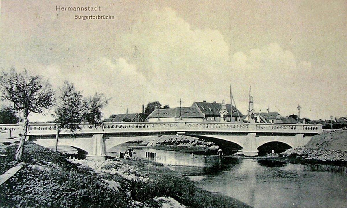 Podul de Piatră de peste Cibin, între frumos şi abandonat