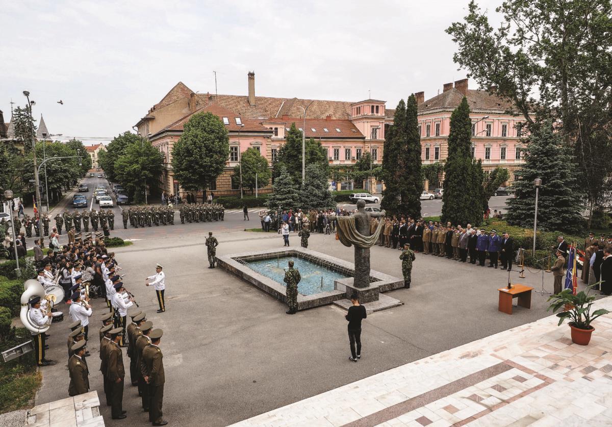 Festivităţi pentru ziua de 9 mai: Ceremonial militar şi religios în centrul Sibiului!