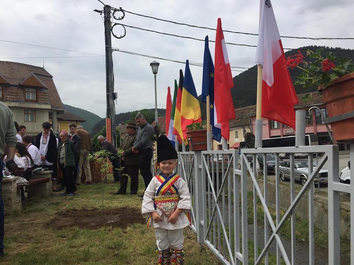 Ziua Europei, sărbătorită în tramvaiul Sibiu – Răşinari