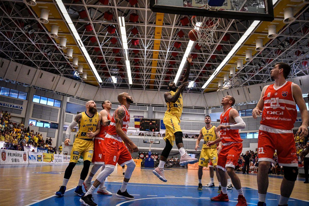 CSU Sibiu, cu Oradea în semifinalele Ligii Naționale