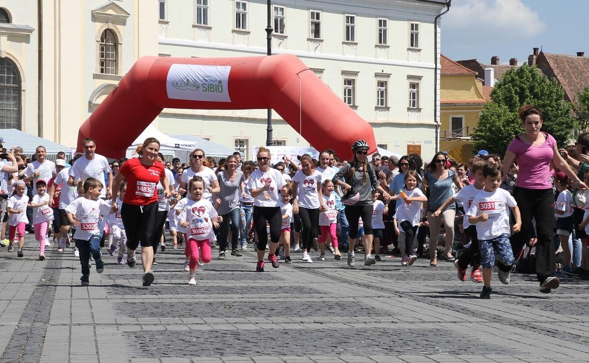 Auchan Sibiu susține, pentru al treilea an, Maratonul Internațional din 26 mai