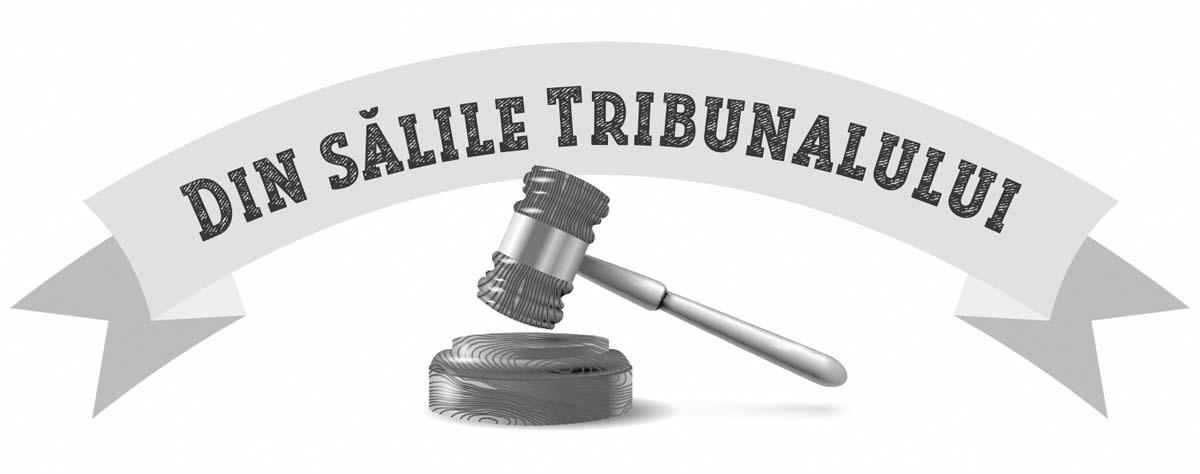 Din sălile Tribunalului